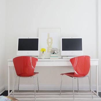Desk for Two Ideas, Contemporary, Den/library/office, Kapito Muller Interior
