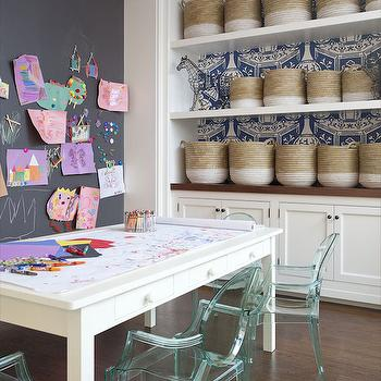 Playroom Ideas, Transitional, Girl's Room, Anik Pearson Architect