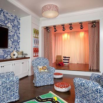 Playroom Design, Transitional, Boy's Room, Anik Pearson Architect