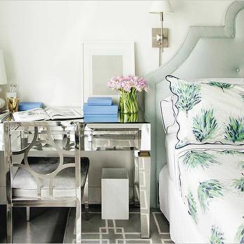 Desk as Nightstand, Transitional, Bedroom, Kapito Muller Interior
