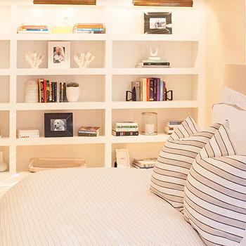 Bedroom with Bookcase, Transitional, Bedroom, Delicious Designs