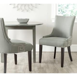 Safavieh Gretchen Linen Fabric Chair (Set of 2), Overstock.com