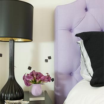 Purple and Black Bedrooms, Contemporary, Girl's Room, Cuff Home