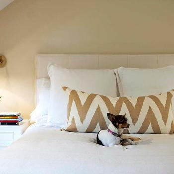 White and Gold Bedrooms, Transitional, Bedroom, Delicious Designs