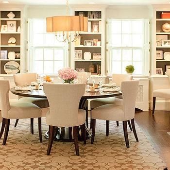 Dining Room with Built Ins, Transitional, Dining Room, Delicious Designs
