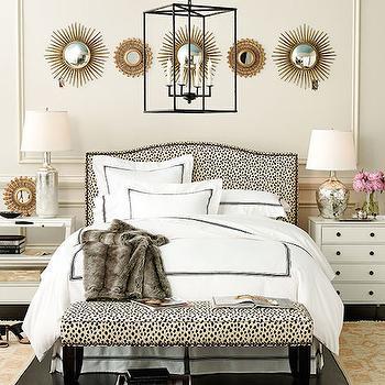 Bedroom with Mismatched Nightstands, Transitional, Bedroom, Ballard Designs