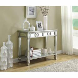 Mirrored 38-inch Sofa Console Table With Two Drawers I Overstock.com