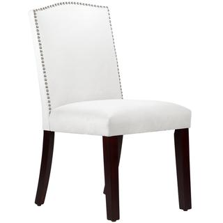 Made to Order Nail Button Arched Dining Chair, Overstock.com
