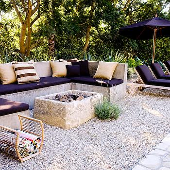 Outdoor Concrete Sofa, Deck/patio, Alexander Designs
