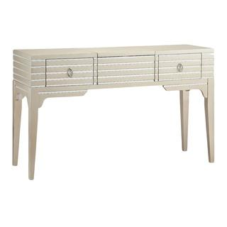 Foxy Champagne/ Mirrored Vanity Table, Overstock.com