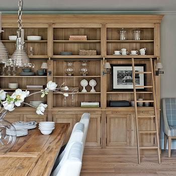 Dining Room with Built In Hutch, Traditional, Dining Room, Sims Hilditch