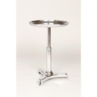 Polished Nickel Tray-top Aluminum Accent Table, Overstock.com