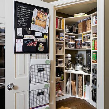 Pantry with Built In Tray Dividers, Transitional, Kitchen, Sicora Design