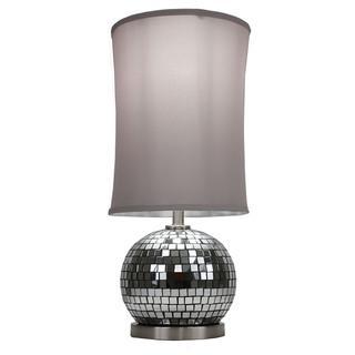 Mirrored Glass Mosaic Ball Lamp, Overstock.com