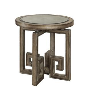 Christopher Knight Home Metallic Grey Accent Table, Overstock.com