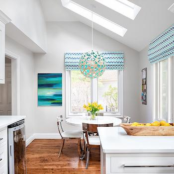 Breakfast Nook with Skylight, Contemporary, Kitchen, Clean Design Partners