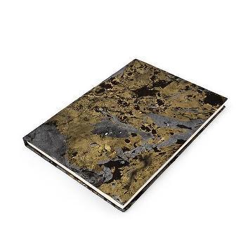Marbelized Notebook I Kelly Wearstler