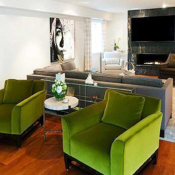 Hollywood Regency, Living Room