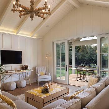 Beige and Yellow Living Rooms, Modern, Living Room, Modern Organic Interiors