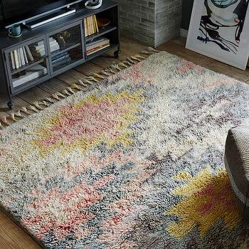 Ashik Wool Rug, Multi I West Elm