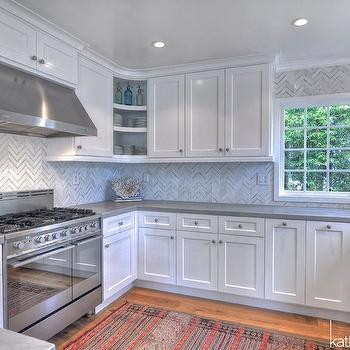 full height marble backsplash contemporary kitchen house home