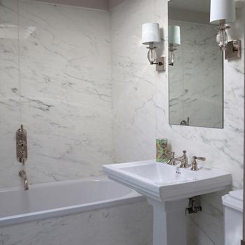 Bathroom with Skylight Ideas, Transitional, Bathroom, Purple Design