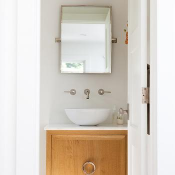 Vanity with Bowl Sink, Contemporary, Bathroom, Kathleen DiPaolo Designs