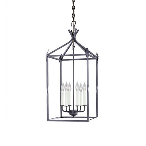 World Imports Lighting Iron 6 Light Hanging Lantern Look for Less