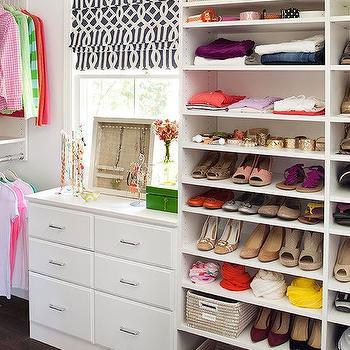 Closet with Shelves for Shoes, Transitional, Closet