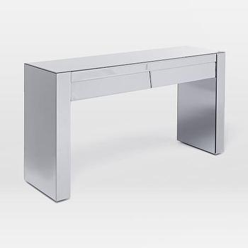 Modern Mirrored Console I West Elm