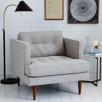 Peggy Mid-Century Armchair I West Elm