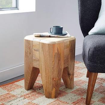 Blockwork Side Table I West Elm