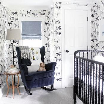 Collette Wallpaper by Sandberg, Transitional, Nursery, Wit and Delight