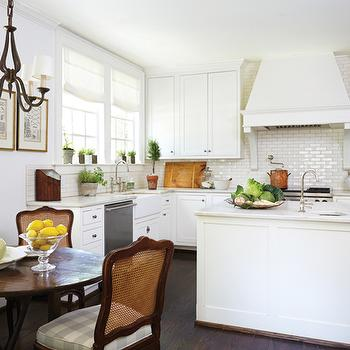 French Kitchen Hood with Corbels, Cottage, Kitchen, Birmingham Home and Garden