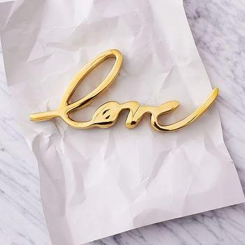 Brass Love Object I West Elm