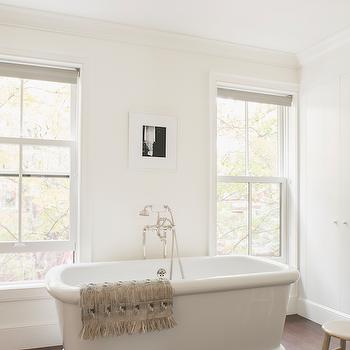 Bathtub Between Windows, Transitional, Bathroom, Ensemble Architecture