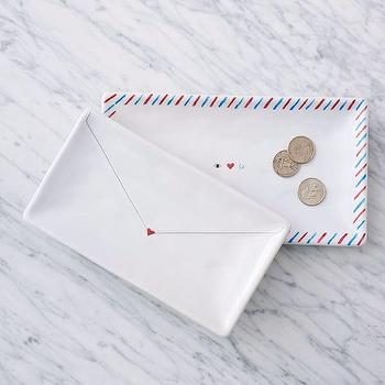 Love Letter Trays I West Elm