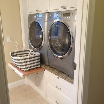 Enclosed Washer and Dryer Ideas, Transitional, Laundry Room