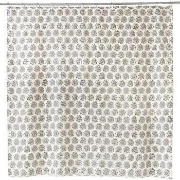 Thistle Shower Curtain design by Allem Studio I Burke Decor