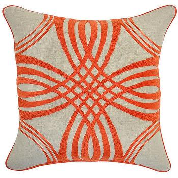 Zoey Marigold Pillow design by Villa Home, Burke Decor