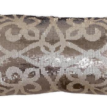 Emilia Beige Pearl Pillow design by Villa Home, Burke Decor