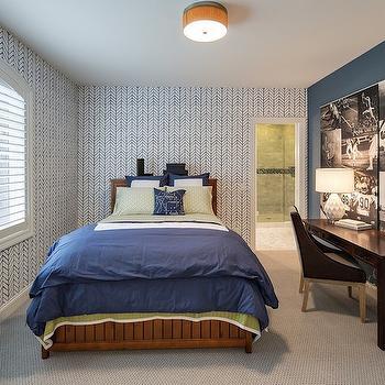 Kid Room with Desk, Contemporary, Boy's Room, Stonewood LLC