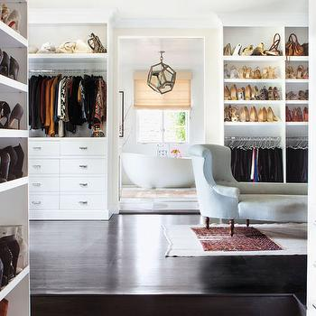 Walk Through Closets, Transitional, Closet, Estee Stanley