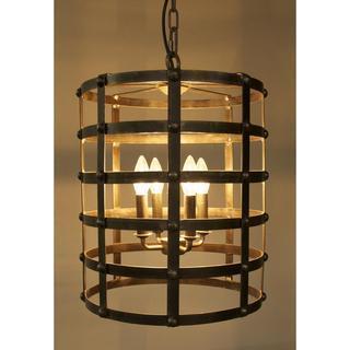 Modern Drum 4-light Pendant, Overstock.com