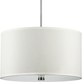 Dayna 3-light Pendant with Faux Silk Shade, Overstock.com