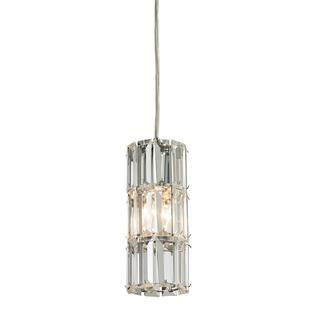 Elk Lighting1-light Round Polished Chrome Mini Pendant, Overstock.com