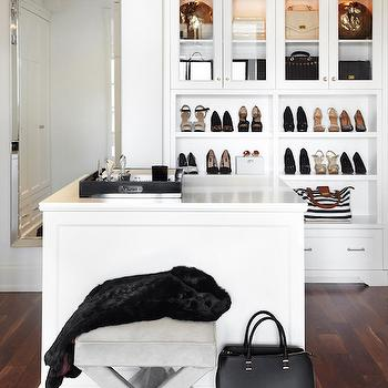 Closet with Island, Transitional, Closet, The Design Company