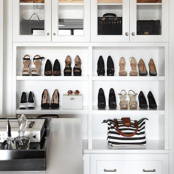 Cabinets to Display Handbags, Transitional, Closet, The Design Company