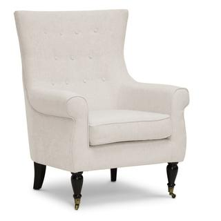Baxton Studio 'Osmaston' Beige Linen Modern Accent Chairs (Set of 2), Overstock.com