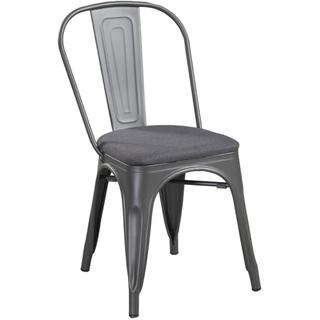 Mark Grey Steel Chair, Overstock.com